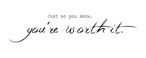 jij bent het waard